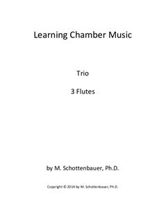 Learning Chamber Music: Flute Trio