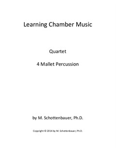 Learning Chamber Music: Mallet Percussion Quartet