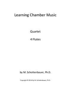 Learning Chamber Music: Flute Quartet