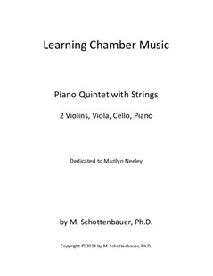 Learning Chamber Music: Piano Quintet with Strings