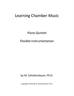 Learning Chamber Music: Piano Quintet for Flexible Instrumentation