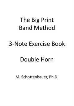 3-Note Exercises: Double Horn