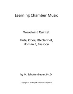 Learning Chamber Music: Woodwind Quintet