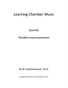 Learning Chamber Music: Quintet for Flexible Instrumentation
