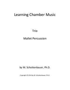 Learning Chamber Music: Mallet Percussion Trio