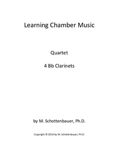Learning Chamber Music: Clarinet Quartet